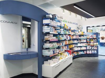 Superficie Espositiva Farmacia Garbarino, Genova Sestri