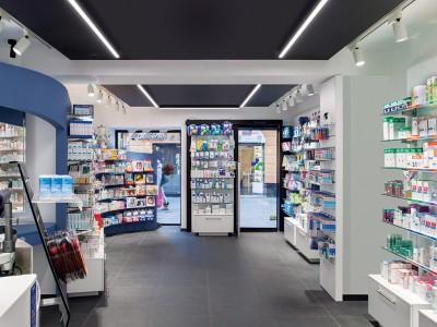 Opere Strutturali Farmacia Garbarino, Genova Sestri