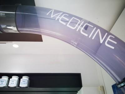Magazzino Automatizzato Farmacia Garbarino, Genova Sestri
